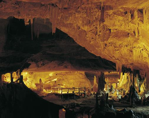 Abercrombie Caves, near Bathurst: a great place to visit in New South Wales.  Image &copy Destination NSW. This photo sponsored by Website Design Category.