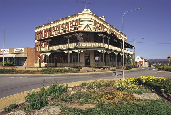 Kurri Kurri Hotel, Hunter: a great place to visit in New South Wales.  Image &copy Destination NSW. This photo sponsored by Hairdressers Category.