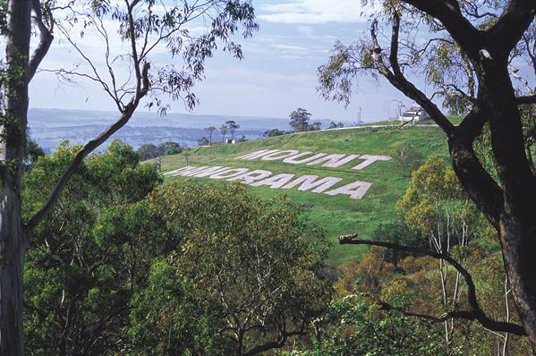 Mount Panorama - Bathurst: a great place to visit in New South Wales.  Image &copy Unknown Photographer; Destination NSW. This photo sponsored by Air Conditioning Category.