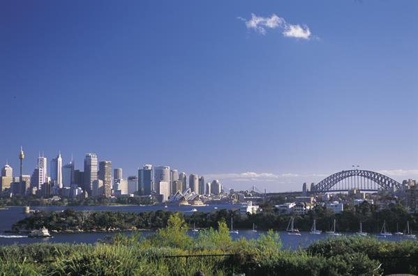 Panorama, Sydney Harbour, Sydney: a great place to visit in New South Wales.  Image © Sally Mayman; Destination NSW. This photo sponsored by Building Restoration Services and-or Supplies Category.