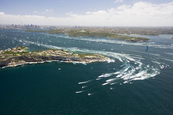 Sydney to Hobart Yacht Race: a great place to visit in New South Wales.  Image © Hamilton Lund, Destination NSW. This photo sponsored by Home Improvements Category.