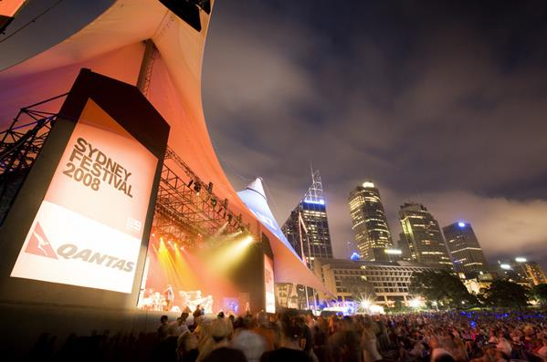 Sydney festival 2008: a great place to visit in New South Wales.  Image © Hamilton Lund; Destination NSW. This photo sponsored by Swimming Pool Equipment and Supplies Category.
