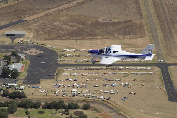 National Ultra-light Fly-in at Narromine: a great place to visit in New South Wales.  Image &copy Gecko Photographics; Destination NSW. This photo sponsored by Contractors Category.