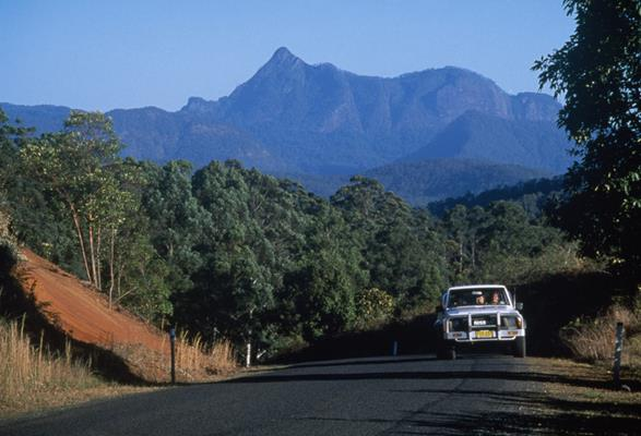 Mount Warning: a great place to visit in New South Wales.  Image © Hamilton Lund; Destination NSW. This photo sponsored by Aviation Services Category.