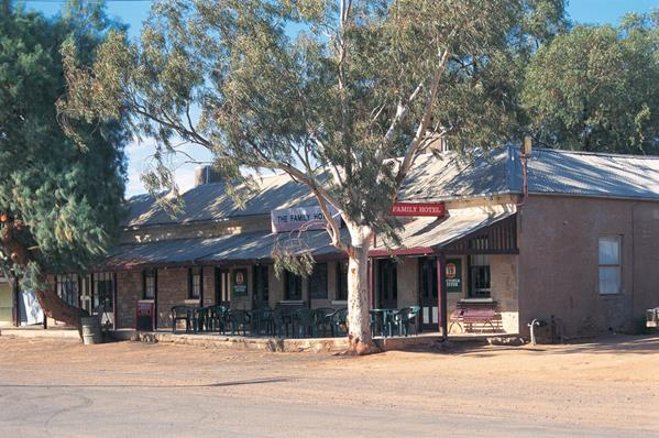 Family Hotel Tibooburra: a great place to visit in New South Wales.  Image © Broken Hill Tourism. This photo sponsored by Healing centres and-or services and-or clinics Category.