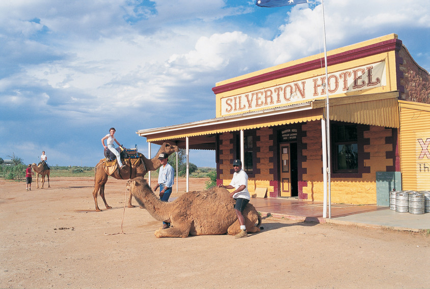 Silverton Hotel: a great place to visit in New South Wales.  Image &copy Broken Hill Tourism. This photo sponsored by Locks and Locksmiths Category.