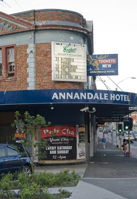 Annandale Hotel: a great place to visit in New South Wales.  Image © Destination NSW. This photo sponsored by Cleaners Category.