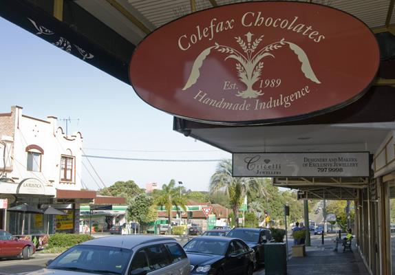 Colefax Chocolates, Haberfield: a great place to visit in New South Wales.  Image © Destination NSW. This photo sponsored by Windows - Double Glazed Category.