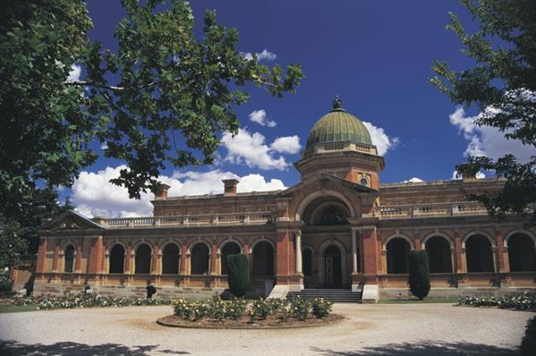 Goulburn Court House, Capital Country: a great place to visit in New South Wales.  Image © Destination NSW. This photo sponsored by Verandahs and Porches Category.