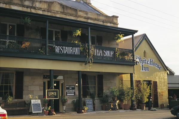 White Horse Inn, Berrima: a great place to visit in New South Wales.  Image © Jann Tuxford; Destination NSW. This photo sponsored by Car Accessories Category.