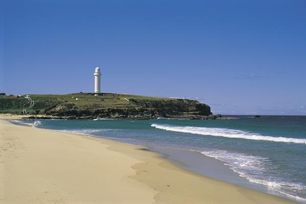 Wollongong City beach: a great place to visit in New South Wales.  Image © Adam Taylor; Destination NSW. This photo sponsored by Printers - Digital Category.