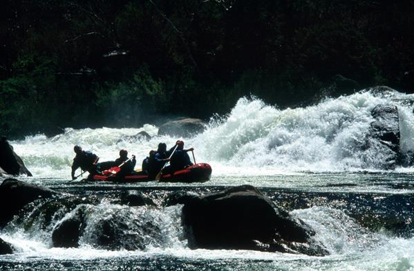 White water rafting, Snowy Mountains: a great place to visit in New South Wales.  Image &copy Jon Armstrong; Destination NSW. This photo sponsored by Fire Protection - Consultants Category.